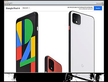 Unsere Website der Woche KW48 19 Googlepixel