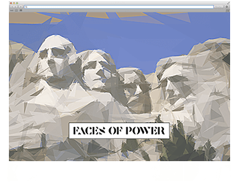 Bild Faces of Power