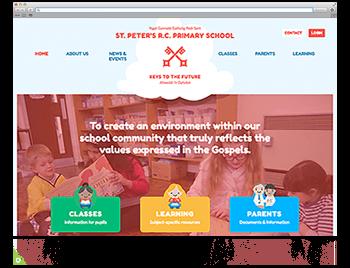 Website der Woche KW 10: St. Peters School aus dem United Kingdom