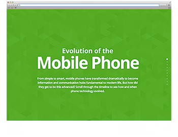 Screenshot WdW KW14 Evolution of the Mobile Phone
