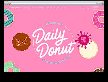 Screenshot WdW KW32 Daily Donut Erfolgsgeschichte