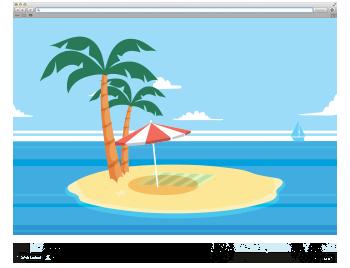 R&R/COM hat Urlaub gemacht.