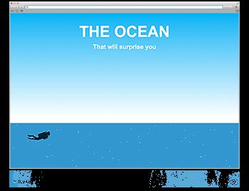 Screenshot WdW KW38 How deep ist the ocean?
