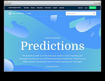 Screenshot WdW KW49 E-Mail-Marketing Predictions 2018