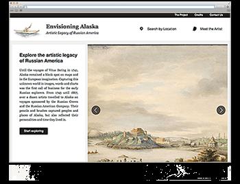 Website der Woche KW 05 Envisioning Alaska