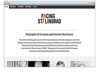 Website der Woche KW 06 facing stalingrad