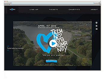 Website der Woche KW 08 Techno for humanity
