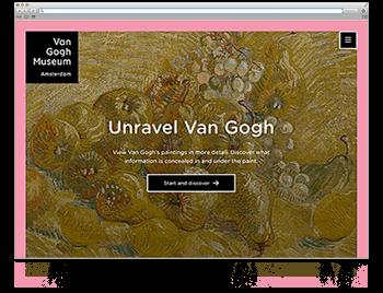 Unsere Website der Woche KW52 Unravel Van Gogh