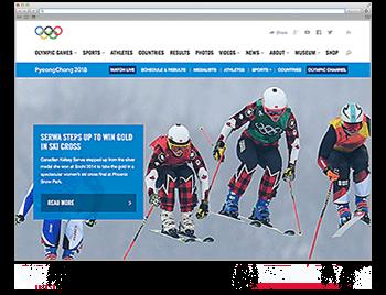 Website der Woche KW 09 Olympic 2018