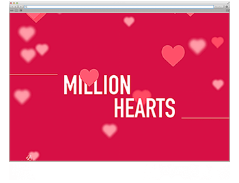Website der Woche KW 17 Million Hearts