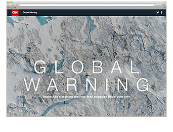 Website der Woche KW 22 Global Warning