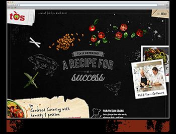 Unsere Website der Woche KW14 19 TNS Catering
