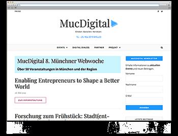 Unsere Website der Woche KW20 MucDigital