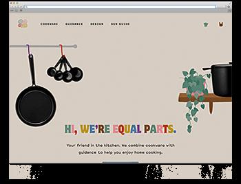 Unsere Website der Woche KW43 19 Equal Parts