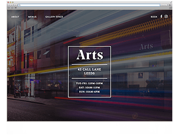 Unsere Website der Woche KW45 19 Artsleeds