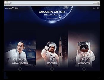 nsere Website der Woche KW33 19 Mission Mond