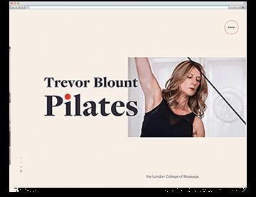 Unsere Website der Woche KW47 19 Trevor Blount Pilates