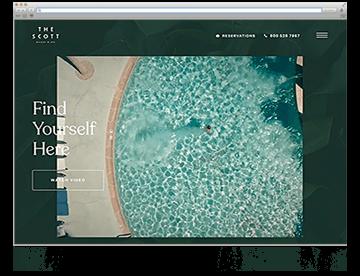 Unsere Website der Woche KW49 19 The Scott Resort