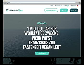 Unsere Website der Woche KW07 19 Million Dollar Vegan
