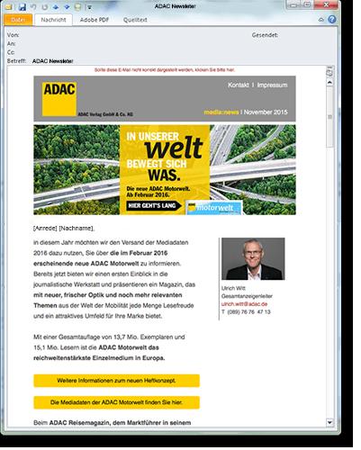 ADAC Newsletter