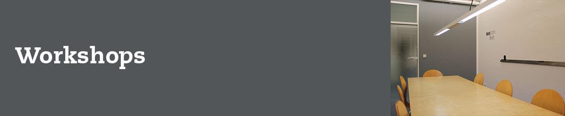 Header-Bild grau für «Workshops»