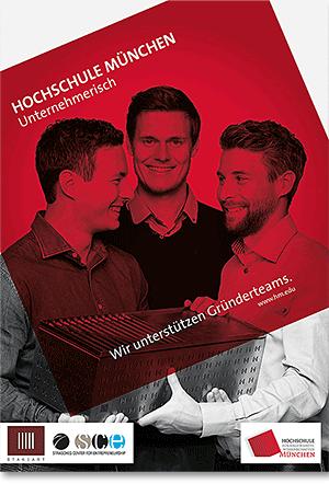 Anzeige Hochschule München unternehmerisch