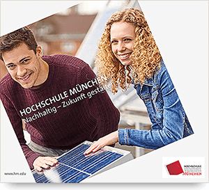 Anzeige VDI Jahresbericht Hochschule München – nachhaltig