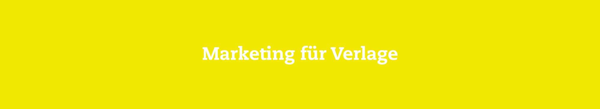 R&R/COM Marketing für Verlage